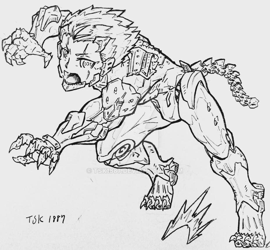 Android type:Beast  by TSK1887