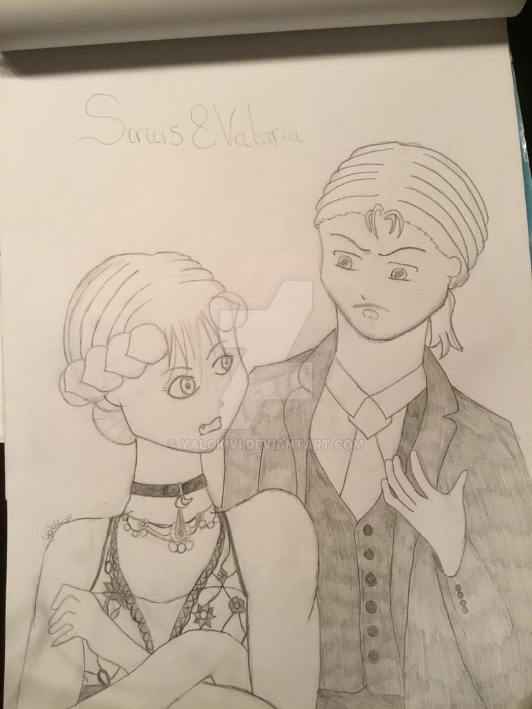 Sirius and Valaria by Yalokivi