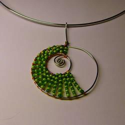 green spiral by tulien