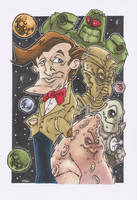 NEW 11TH DOCTOR OLD ENEMIES by leagueof1