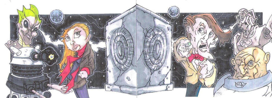 THE PANDORICA OPENS by leagueof1