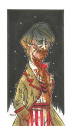 5TH DOCTOR ZOMBIE VARIANT by leagueof1