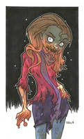 AMY POND ZOMBIE VARIANT by leagueof1