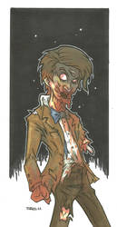 11TH DOCTOR ZOMBIE VARIANT by leagueof1