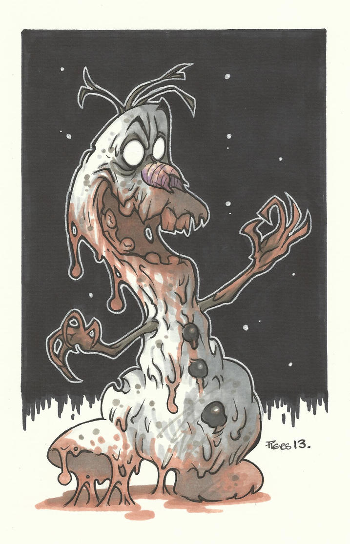 THE ABOMINABLE SNOWMAN by leagueof1 on DeviantArt