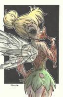DISNEY ZOMBIE MASTERWORKS - TINKERBELL by leagueof1