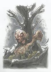 DEAD TREE ZOMBIE by leagueof1