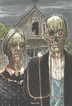 AMERICAN GOTHIC of the DEAD by leagueof1