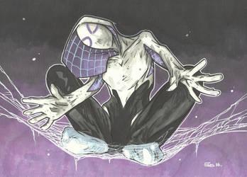 SPIDER GWEN STRIKES by leagueof1