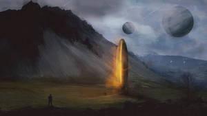 First encounter - Concept art #2