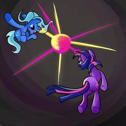 Generic pony duel