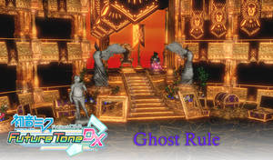 MMD Project Diva Future Tone DX: Ghost Rule Stage by Terrathde