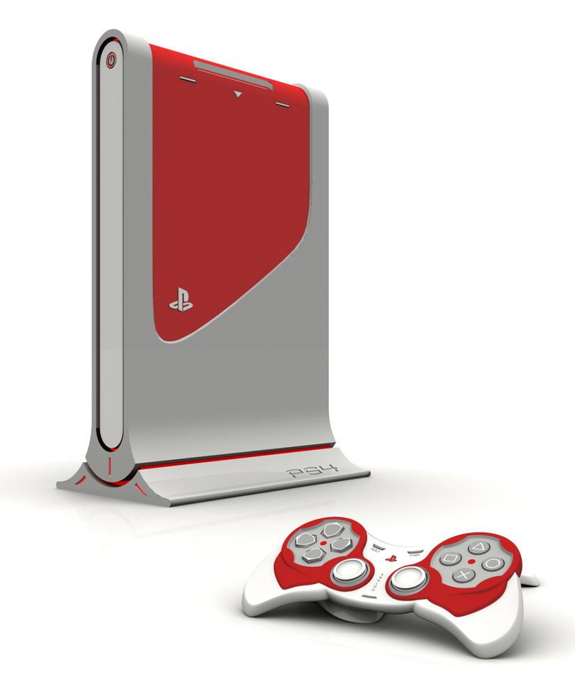 SonyPlayStation console B by TesserarT