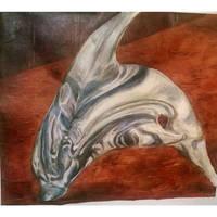 glass dolphin glazing technique
