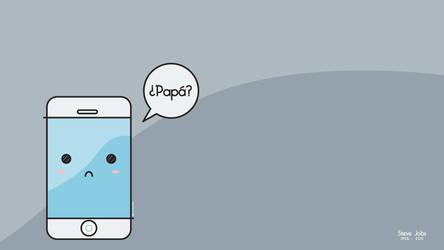 Iphone sad by ConejitoPerverso