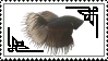 Black Betta Stamp by neeneer