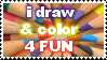 Draw For Fun Stamp by neeneer