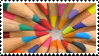 Colored Pencil Stamp by neeneer