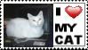 Love My Cat Stamp 1 by neeneer