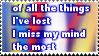 Miss My Mind Stamp by neeneer