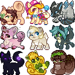 Icon batch 1 by goatr