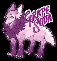 Grape sode {Gatorgon flatprice adoptable} CLOSED by goatr