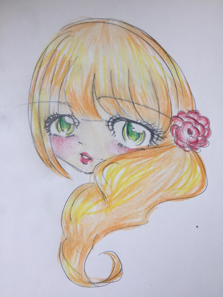 Sun flower by luckyfourleafclover