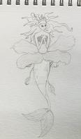MerMay day 3: Hibiscus