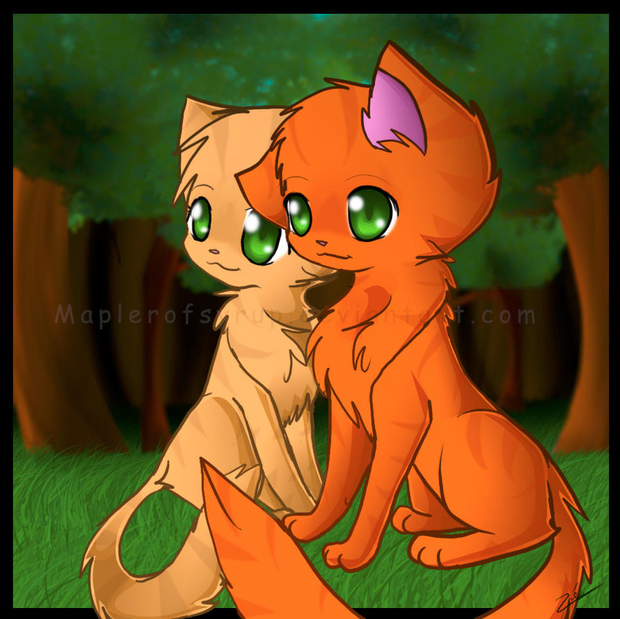 Sss Warrior Cats The Movie: Fireheart And Spottedleaf