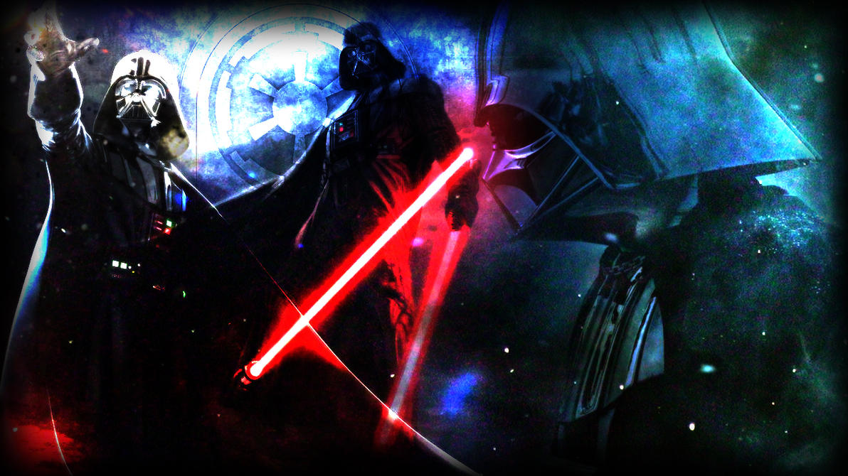 Luke Skywalker Vs Darth Vader Wallpaper