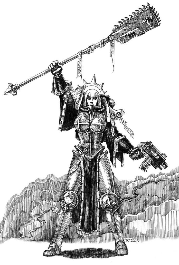 Sister of battle by Skirill