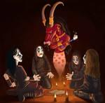 true black metal night