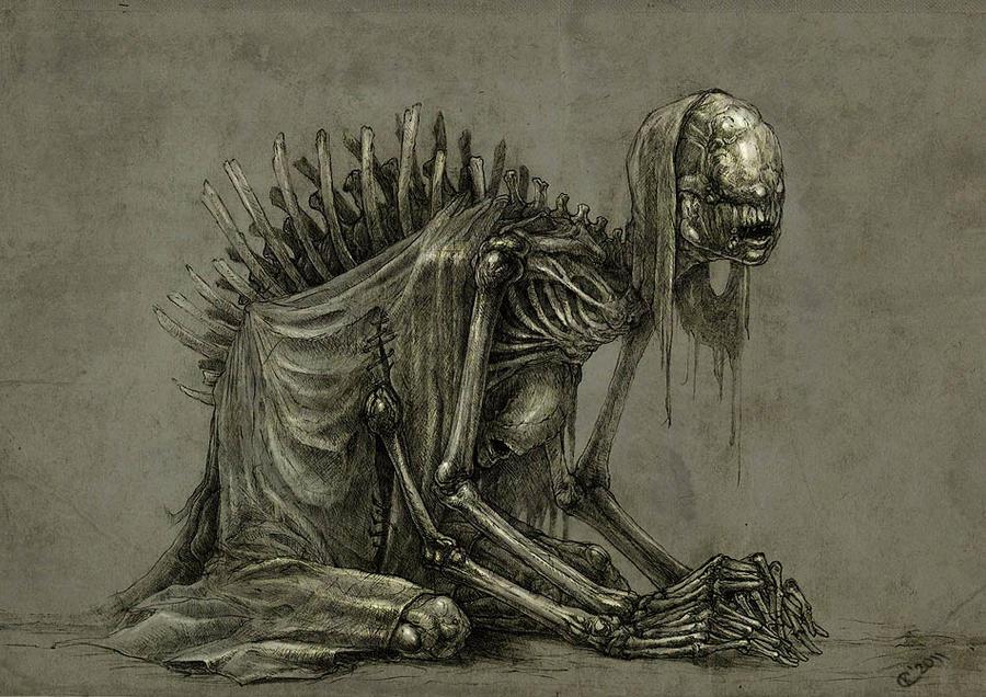 Sack of bones by Skirill