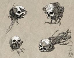 Servo skulls