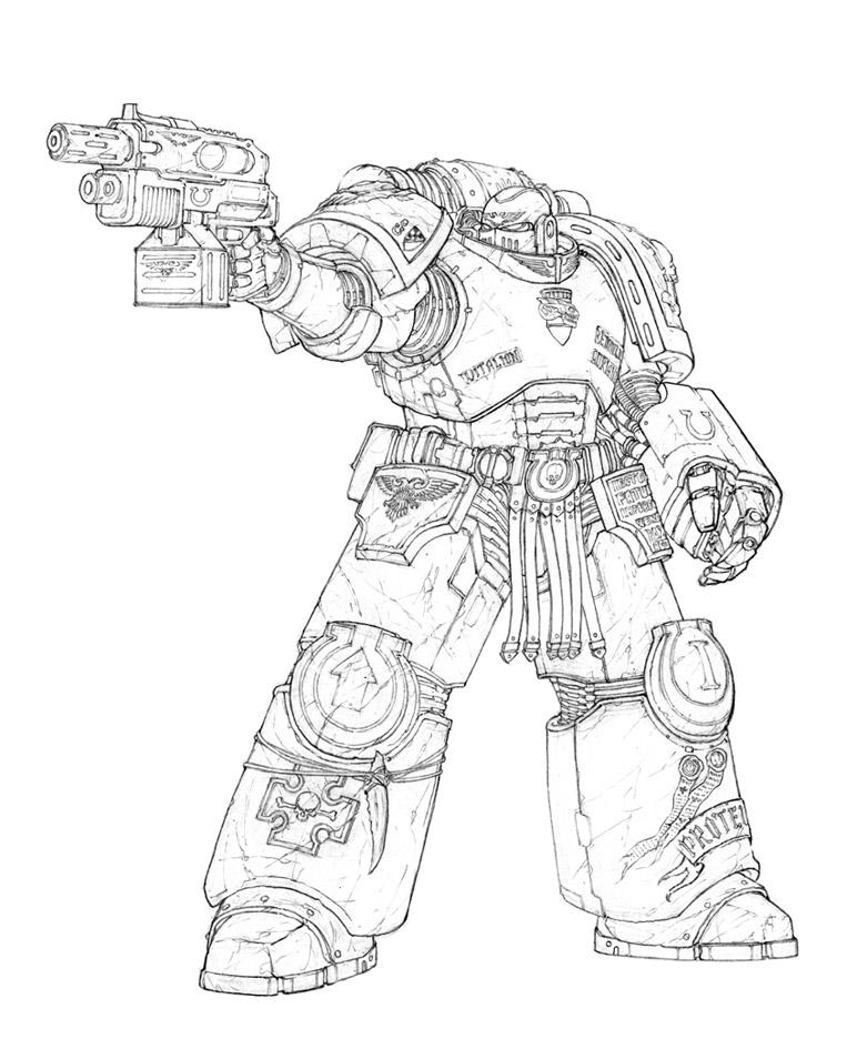 Ultra Veteran Tyranid Hunter by Skirill