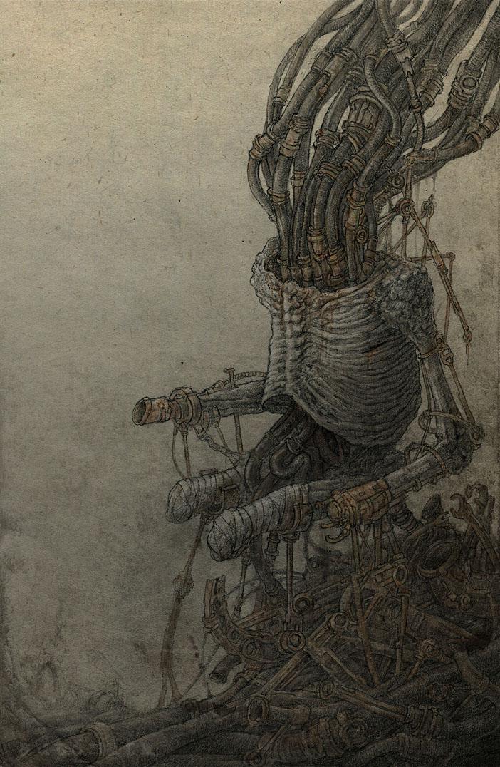 Robot by Skirill