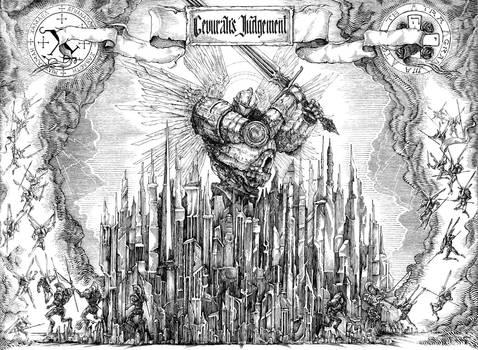 Gevurah's Judjement (Commission) by Skirill