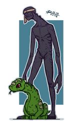 Pascal and Tim by Annkh-Redox