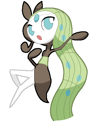 Meloetta The Melody Pokemon By Deviantroid On Deviantart