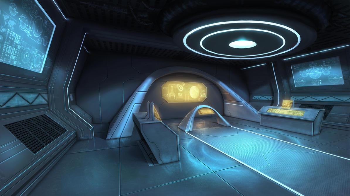 Control Room by eddieshred