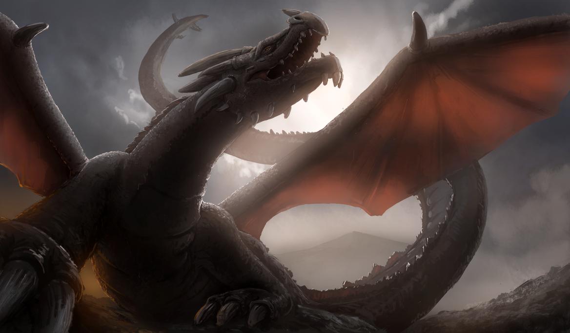 Dragon 1 by eddieshred