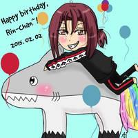 Happy birthday, Rin-chan! by Kriminaal