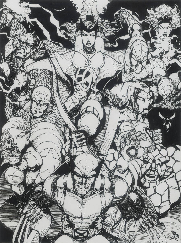 Marvel SuperHeroes by Dingodile24