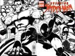The Avenging Spider-Man Wraparound art