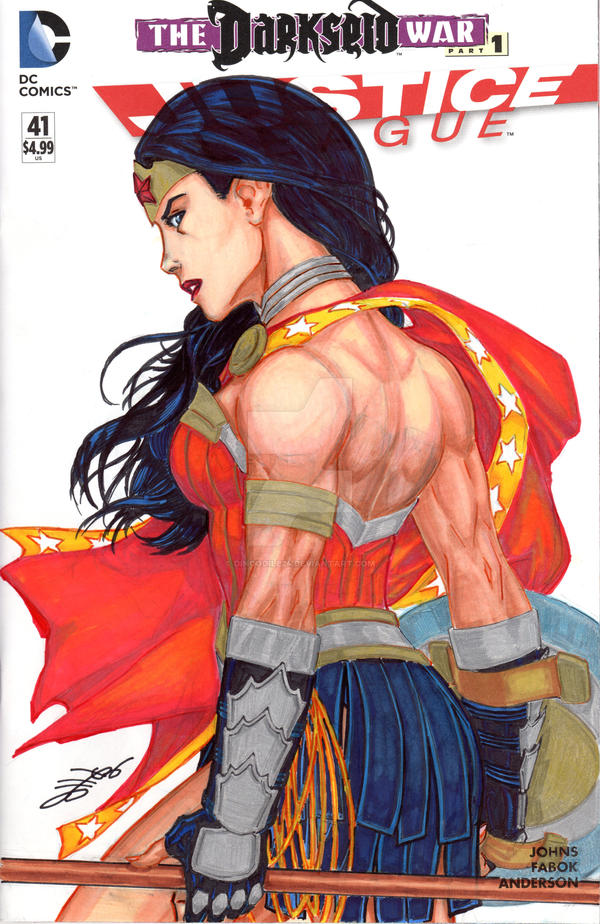 Wonder Woman-SOLD by Dingodile24