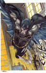 11 x 17 BATMAN REBIRTH Colored- FOR SALE