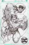 Superman, Superboy, and Krypto