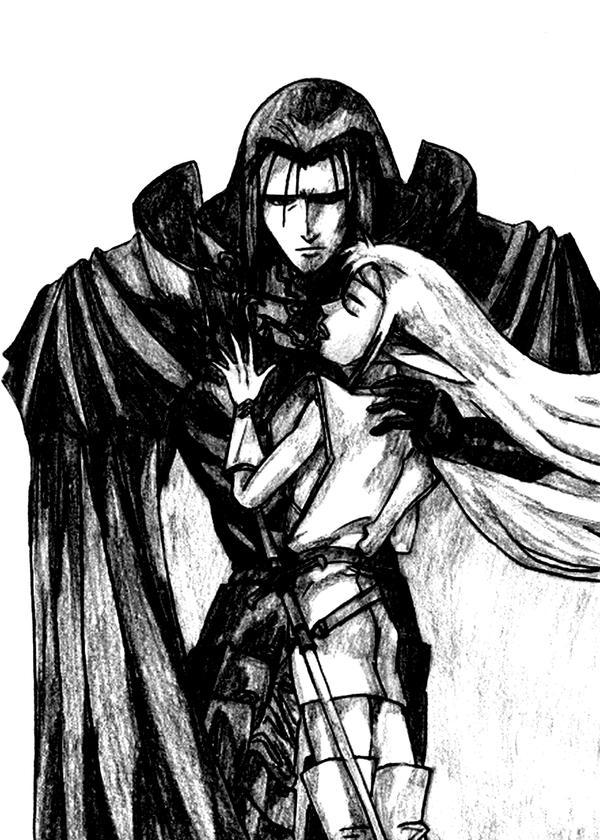 The dark couple by peterprime on deviantart - Dark anime couples ...