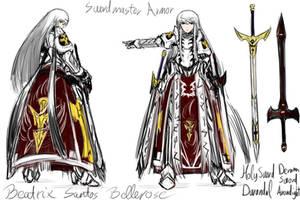 Swordmaster Armor by PeterPrime