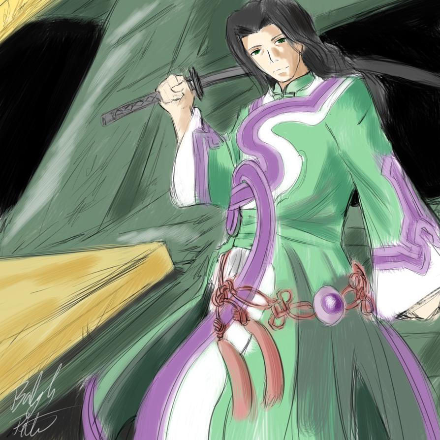 Xenosaga III: Jin Uzuki by PeterPrime